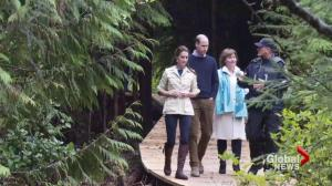 The Royal Couple visit Bella Bella